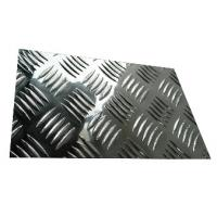 Quality Bright Diamond Tread Plate Aluminum Sheets , Checker Plate Aluminum Sheets wholesale