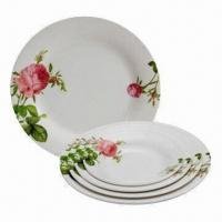 Quality Melamine Plates for Home, Restaurant and Hotel, Customized Designs Accepted wholesale