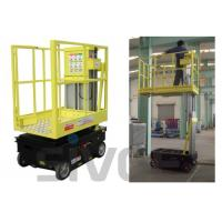 Buy cheap 5m Working Height Self Driven / Motor Driven Aerial One Man Lift For Fixture Works from wholesalers