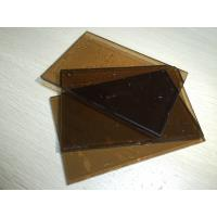 Quality Glass Building Material Laminated 6mm Brown Tempered Glass For Hpme Decorative wholesale
