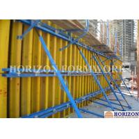 Quality Shear Wall Formwork Systems , Vertical Concrete Wall Formwork I Joist Beam wholesale