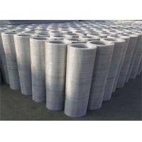 Quality 304 Woven Stainless Steel Crimped Wire Mesh Square Hole For 1-2m Width wholesale