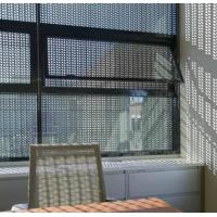 China Perforated aluminum security window or door screens on sale