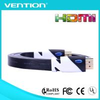 Quality V2.0 Flat High speed HDMI Cable Gold Plated Support 1080p Full 3D HDMI Extension Cable wholesale