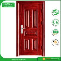 Quality Ce High Quality Swing Security Steel Door Made In China Standard Size of Main Gate Modern American Steel Door wholesale