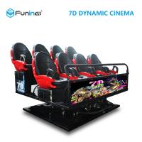 Quality 6 DOF Movement 8D / 9D / Xd Cinema / 5D Movie Theater Equipment wholesale