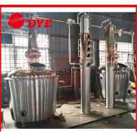 Quality Electric Commercial Alcohol Distiller Machine For Wine 3MM Thickness CE wholesale