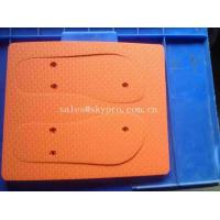 China Fashion Colorful Coated Foam Flip Flops Soles Close Cell Wearable Cut Out Slippers Soles on sale