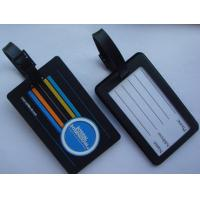China Baggage tag    Material: Eco-friendly PVC on sale