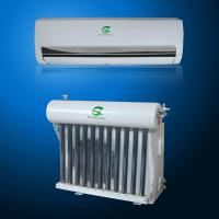 China 12000 btu Vacuum Thermal Split Wall Mounted Hybrid Solar Air Conditioner on sale