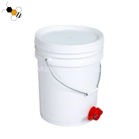 China 1KG Food Grade PP 5 Gallon Bucket With Honey Gate on sale