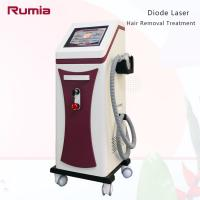 Quality Triple Wavelengths 755nm 808nm 1064nm  Diode Laser Hair Removal Machine Stationary Strong Power wholesale