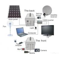 China Solar Led Bulb Lighting System For House With Mobile Recharge on sale