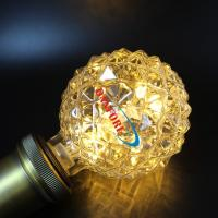 China 1.3W G95 starry led bulb with faced glass,clear cover, 2200K/RGB color, Christmas holiday decoration on sale