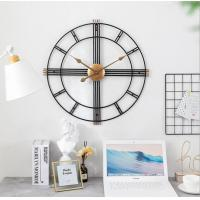 "Quality Aero Snail 20"" Metal Wall Clock Decorative Round 3D Hollow  non-ticking customized plastic round home decor wall clock wholesale"