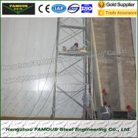 Quality 75mm Thick Thermal Insulated Sandwich Panels PU Wall System Use wholesale