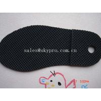 China Men and women sole diamond pattern Durable TPR rubber sheets for shoe soles / outsole on sale