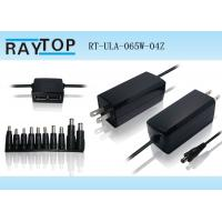 Cheap Raytop OEM Private Model Mini laptop power Adapter Double USB 5V 2.1A For for sale