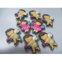 China Flexible 3D Boys Girls Angel Shape PVC Fridge Magnet Sticker With Cheap Wholesale Price, For Home Decoration on sale