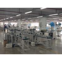 Quality Ear Loop 3 Plys Face Mask Making Machine For Non Woven Medical Face Mask wholesale
