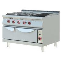 China Commercial Kitchen Gas Burner Electric Oven 6 Burner Table Top Cooker on sale