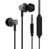Quality Fashion Wired Earbud Ear Earphone For Iphone Mobile Phone In-ear Headphone With Mic wholesale