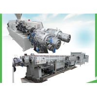 Double Cavities Plastic Pipe Extrusion Machine With Oil Controlling System