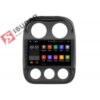 Quality 10.1 Inch Single Din Touch Screen Car Stereo , Jeep Compass Gps Navigation System wholesale