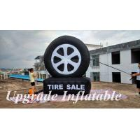 Quality custom hot sale giant advertising inflatable tire balloon for sale wholesale