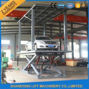 Quality Simple Double Deck Car Parking System For Basement Car Parking With CE wholesale