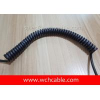 Quality UL21127 Control Panel Spring Cable PUR Jacket Rated 75C 600V wholesale