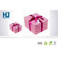 Cheap Beautiful eco - friendly Cardboard Gift Packing Boxes with Lid For Scarves for sale