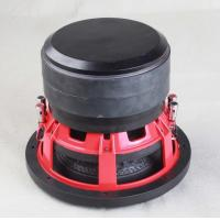 China Deep Bass Car Subwoofer Amplifier Rubber Surround Excellent Sound Effect on sale