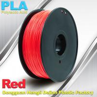 Cheap PLA  Filament, 1.0kg /  roll ,1.75mm / 3.0mm  3D Printer Filament Red colors for sale