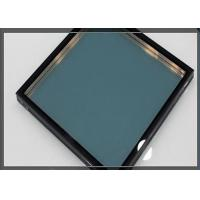 Cheap 12A + 5mm / 6mm / 8mm Tempered Double Insulated Glass For Buildings for sale
