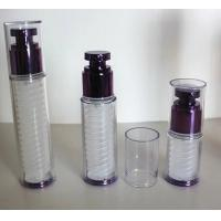 China 15ml 30ml 50ml  cosmetic double layer wall pp airless bottle on sale