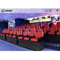 Quality SGS Certificate 6D Motion Theater 24 Seater Dynamic System Mini Cinema Equipment wholesale