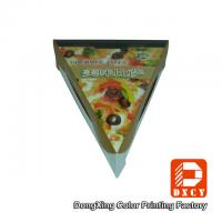 Quality Glossy Varnishing Food Grade Pizza Packaging Boxes Triangle Single Slice Pizza Box wholesale
