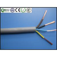 China ROHS PVC Electrical Shield Multi-conductor cable UL2464 4Cx20AWG 300V with UL Certificate in Grey Color on sale