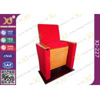 Quality Two Pieces Type Back Rest Theater Seating Chairs With Full Upholstered Cover Leg wholesale