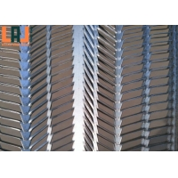 ASTM C847 Stainless Steel Expanded Metal Sheet Small Lateral Pressure for sale