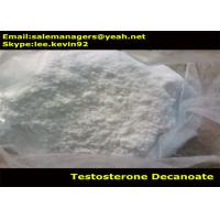 Cheap Cas 5721-91-5 Raw Testosterone Powder / Testosterone Decanoate Powder For Weight Lose for sale
