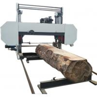 Quality Large Horizontal Diesel Powered Log Cutting Band Sawmill Automatic Operation wholesale