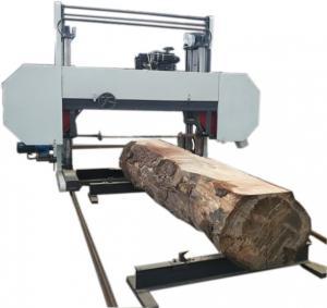 Quality MJ2000 large size automatic wood cutting machine-Heavy Duty Large Size Horizontal Band Saw Mill wholesale