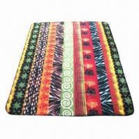 Quality Printed fleece blanket, decorative and comfortable wholesale