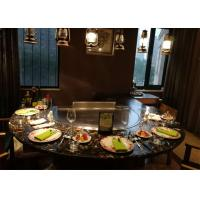 Quality Teppanyaki with Built-in Air Blower and Electrostatic Fume Purifier used for Private Club wholesale