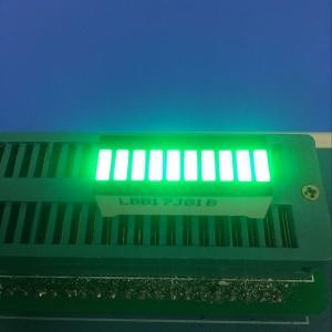 China Pure Green 10 LED Light Bar 120MCD - 140MCD Luminous Intensity on sale