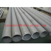 China ASTM A213 / A269 SS Seamless Pipe, Seamless Stainless Steel Tubing 6mm - 101.6mm OD on sale