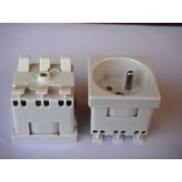 Quality Grounding French Electric Plug , Safety France Power Outlet For Wall Wholesale wholesale