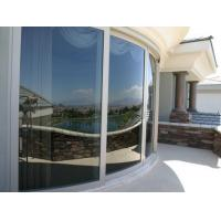 Quality Better flexibility Curved Tempered Glass railing panels with polish edge wholesale